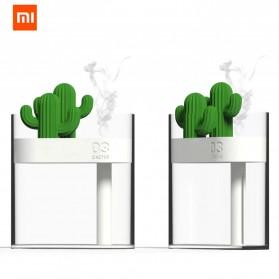 Xiaomi Mijia Sothing Air Humidifier Ultrasonic Pelembab Udara Aromatherapy Oil Diffuser Desain Kaktus 160ML- 319 - White - 2