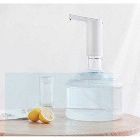 Xiaomi XiaoLang Dispenser Pompa Galon Air Mini Automatic Water Pump Wireless Rechargeable USB - HD-ZDCSJ05 - White - 4