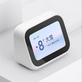 Xiaomi AI Touch Screen Smart Speaker Digital Display Alarm Bluetooth 5.0 - LX04 - White - 3