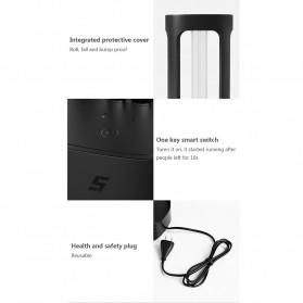 Xiaomi Mijia Five Lampu UV Disinfektan Germicidal Lamp Sterilization - YSXDD001YS - Black - 7