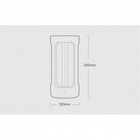 Xiaomi Mijia Five Lampu UV Disinfektan Germicidal Lamp Sterilization - YSXDD001YS - Black - 8