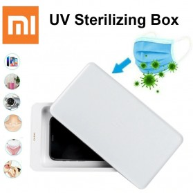 Xiaomi FIVE Smartphone Sterilizer Box Disinfection Ultraviolet UV Light with Wireless Charger 10W - YSXDH001WX - White