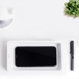 Xiaomi FIVE Smartphone Sterilizer Box Disinfection Ultraviolet UV Light with Wireless Charger 10W - YSXDH001WX - White - 6