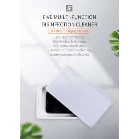 Xiaomi FIVE Smartphone Sterilizer Box Disinfection Ultraviolet UV Light with Wireless Charger 10W - YSXDH001WX - White - 7