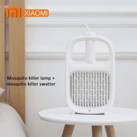 Xiaomi Yeelight Pembasmi Nyamuk Multifungsi Mosquito Swatter Layers Mesh Electric Handheld - YLGJ04YI - White