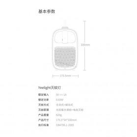 Xiaomi Yeelight Pembasmi Nyamuk Multifungsi Mosquito Swatter Layers Mesh Electric Handheld - YLGJ04YI - White - 7