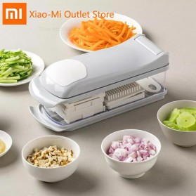 Xiaomi Youpin Jordan&Judy Vegetables Cutter Grater Pemotong Parutan Buah Sayur - White