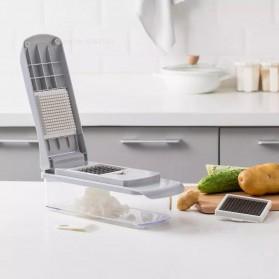 Xiaomi Youpin Jordan&Judy Vegetables Cutter Grater Pemotong Parutan Buah Sayur - White - 2