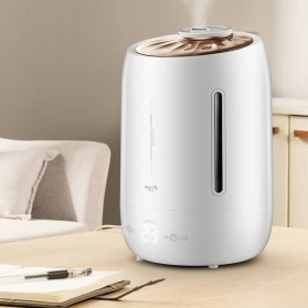 Xiaomi DEERMA Air Humidifier Ultrasonic Aromatherapy Oil Diffuser Large Capacity 5L Touch Screen -DEM-F600 - White - 2
