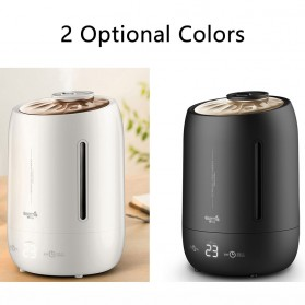 Xiaomi DEERMA Air Humidifier Ultrasonic Aromatherapy Oil Diffuser Large Capacity 5L Touch Screen -DEM-F600 - White - 6
