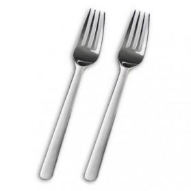 Xiaomi Mijia Zwilling Garpu Makan Forks Stainless Steel 2 PCS - MJSLRCC01XH - Silver