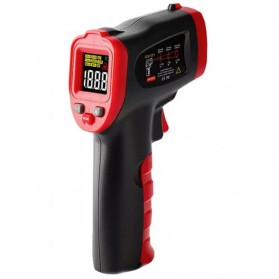 DUKA Thermometer Laser Infrared Non Contact - TG-1 - Black/Red