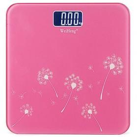WeiHeng Timbangan Badan Digital Kaca - R18L - Pink - 1