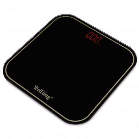 WeiHeng Timbangan Badan Digital Kaca - WH-RO8 - Black