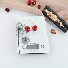 Weiheng Timbangan Dapur Portable Scale - WH-B13L - White