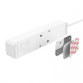 Orico Stop Kontak Power Strip 3 Plug EU with 2 USB Port 2.4A - GPC-3A2U - White - 2