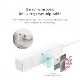 Orico Stop Kontak Power Strip 3 Plug EU with 2 USB Port 2.4A - GPC-3A2U - White - 6