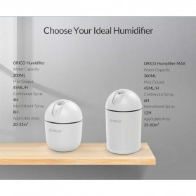 ORICO Premium Desktop Humidifier Max 300ml - HU2 - White - 9