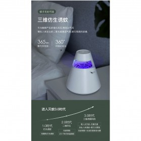 Remax Life Pembasmi Nyamuk UV LED Photocatalyst Mosquito Repellent - RL-LF10 - Green - 7