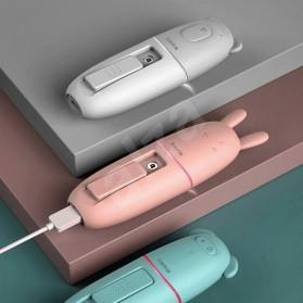 Baseus USB Humidifier Nano Mist Sprayer Facial Steamer Moisturizer Nebulizer 15ml - ACBSY-0G - White - 7