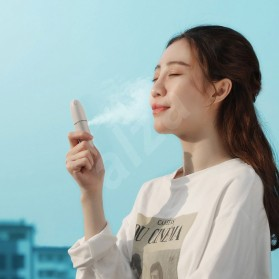 Baseus USB Humidifier Nano Mist Sprayer Facial Steamer Moisturizer Nebulizer 15ml - ACBSY-0G - White - 9