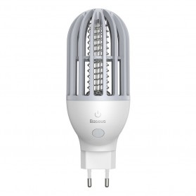 Baseus Pembasmi Nyamuk UV Light Mosquito Killer Bionic Lamp - ACMWD-LB02 - White - 2