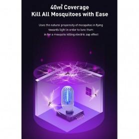 Baseus Pembasmi Nyamuk UV Light Mosquito Killer Bionic Lamp - ACMWD-LB02 - White - 3