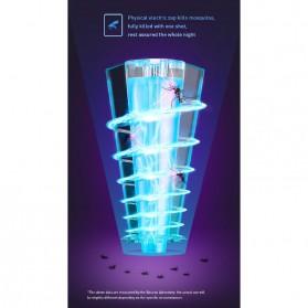 Baseus Pembasmi Nyamuk UV Light Mosquito Killer Bionic Lamp - ACMWD-LB02 - White - 6