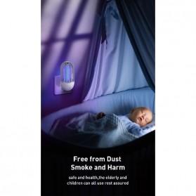 Baseus Pembasmi Nyamuk UV Light Mosquito Killer Bionic Lamp - ACMWD-LB02 - White - 7