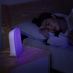 Baseus Pembasmi Nyamuk UV Light Mosquito  Killer Bionic Lamp - ACMWD-BJ02 - White - 10