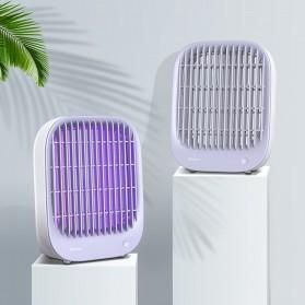 Baseus Pembasmi Nyamuk UV Light Mosquito  Killer Bionic Lamp - ACMWD-BJ02 - White - 4