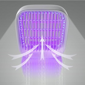 Baseus Pembasmi Nyamuk UV Light Mosquito  Killer Bionic Lamp - ACMWD-BJ02 - White - 5