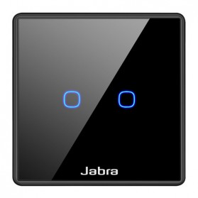 Jabra Saklar Lampu Touch LED 2 Button - JB2 - Black