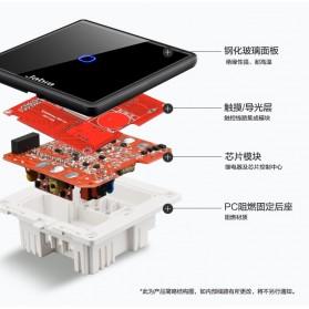 Jabra Saklar Lampu Touch LED 2 Button - JB2 - Black - 2