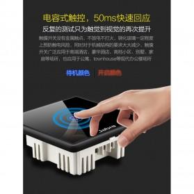 Jabra Saklar Lampu Touch LED 2 Button - JB2 - Black - 3