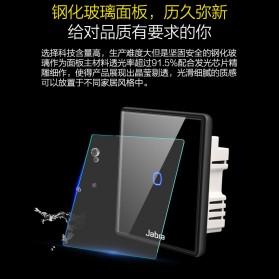 Jabra Saklar Lampu Touch LED 2 Button - JB2 - Black - 7