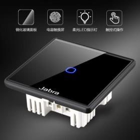 Jabra Saklar Lampu Touch LED 2 Button - JB2 - Black - 8