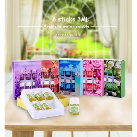 Taffware HUMI Essential Oils Minyak Aromatherapy Diffusers 3ml Lavender 6 PCS - 26461 - 10