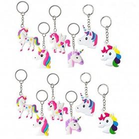 Gantungan Kunci Model Unicorn 1PCS - Multi-Color