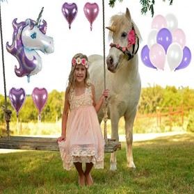 Set Balon Pesta Ulang Tahun Unicorn - Multi-Color - 4
