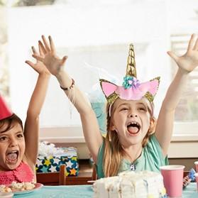 Set Balon Pesta Ulang Tahun Unicorn - Multi-Color - 5