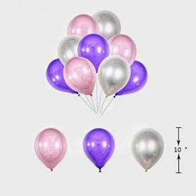 Set Balon Pesta Ulang Tahun Unicorn - Multi-Color - 10