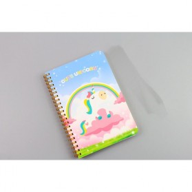 Buku Catatan Harian Unicorn Notebook - Multi-Color