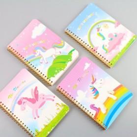 Buku Catatan Harian Unicorn Notebook - Multi-Color - 9