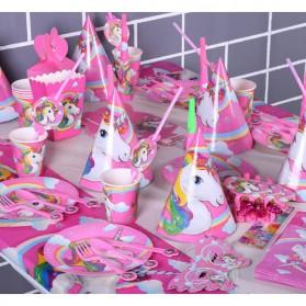 Set Perlengkapan Pesta Ulang Tahun Unicorn - Multi-Color - 2