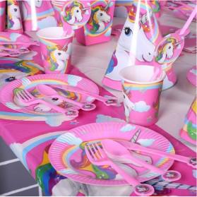 Set Perlengkapan Pesta Ulang Tahun Unicorn - Multi-Color - 4