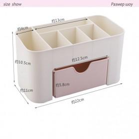 RORASA Kotak Organizer Kosmetik Perhiasan Rak Make Up - JAC000355 - Pink - 2