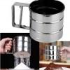 Saringan Penghalus Bubuk Tepung Kopi Susu Gula Powder Mug - Silver