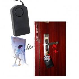 Honest Alarm Pintu Rumah Portable - Black - 6