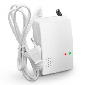 Alat Pendeteksi Gas Leak Detector with Alarm System - White